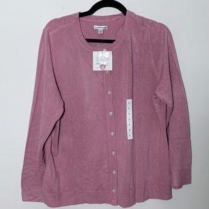 4/$25 Croft & Borrow NWT Purple Cardigan